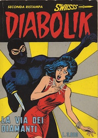 Diabolik stars in this Italian fumetto.