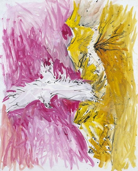 Georg Baselitz, <em>Stachelalm</em>, 2000. Oil on canvas, 162 x 130 cm. © Georg Baselitz 2019. Photo: Jochen Littkemann, Berlin.