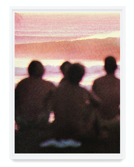 Stephen Milner, <em>The Boys Watching</em>, 2019. Archival inkjet print on Fujifilm Luster, 37 1/2 x 28 inches. Courtesy Swish Projects, San Diego.