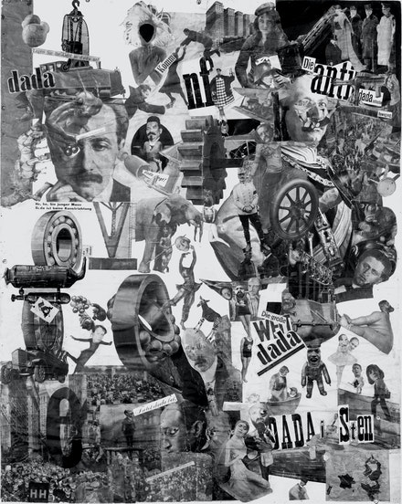 Hannah Höch, <em>Schnitt  mit dem Küchenmesser Dada durch die letzte Weimarer Bierbauch-Kulturepoche Deutschlands</em>, (detail), 1919.  © VG Bild-Kunst, Bonn 2013 / Staatliche Museen zu Berlin, Nationalgalerie / Jörg P. Anders.