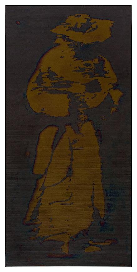 Kyle Breitenbach, <em>An Image for Longing</em>, 2019. Oil on canvas,82 x 40 inches. Courtesy Shrine NYC.