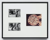Allan Sekula, <em>This Ain't China: A Photonovel</em>, 1974. 29 silver gelatin prints, 10 color photographs, 5 booklets in English, 5 booklets in Chinese, 2 chairs. Courtesy Allan Sekula Studio and Marian Goodman Gallery.