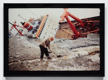 Allan Sekula, <em>Shipwreck and Worker, Istanbul from