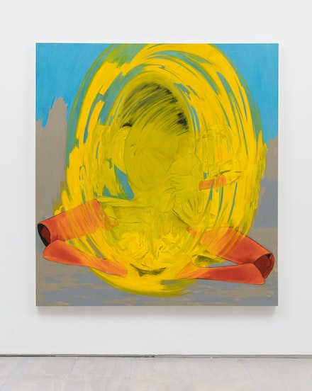 Janiva Ellis, Yup Genie, 2019. Oil on linen, 70 x 76 inches. Courtesy the artist and 47 Canal, New York. Photo: Joerg Lohse.