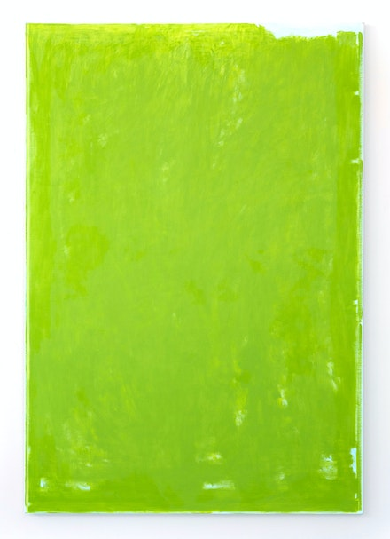 John Zurier, <i>Urður</i>, 2019. Oil on linen, 84 x 58 inches. Courtesy the artist and Peter Blum Gallery, New York