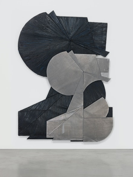 Wyatt Kahn, <em>You and You</em>, 2019. Oil stick on lead on panel, 88 x 61 inches. © Wyatt Kahn. Courtesy the artist and Galerie Eva Presenhuber, Zurich / New York. Photo: Genevieve Hanson.</em></em>