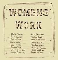 <em>Womens Work</em>, cover, issue 1. Courtesy of Primary Information