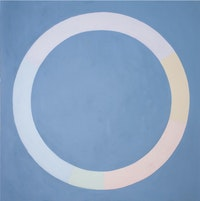 Brian O'Doherty, <em>Vaughan's Circle</em>, 2004. Acrylic on canvas, 72 x 72 inches.