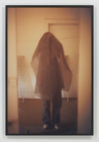 Paul McCarthy, <em>Veil</em>, 1970. Lightjet C-print, 72 x 48 inches. © Paul McCarthy. Courtesy the artist and Hauser & Wirth.