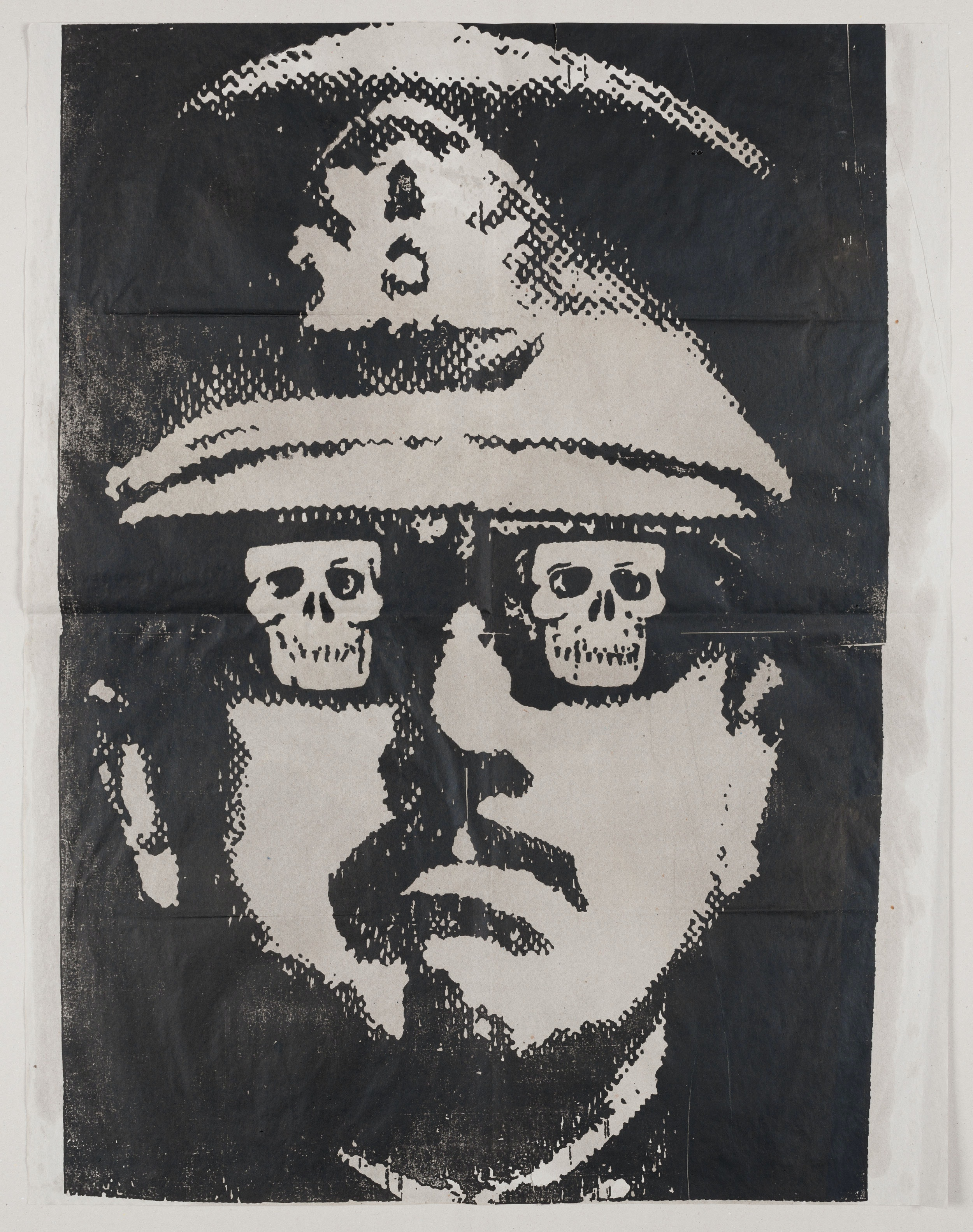 Fernando Bedoya, <em>Pinochet</em>, 1987. © Courtesy of the artist.