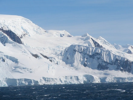 Landscape near Palmer Station, Antarctica. Photo by the author.