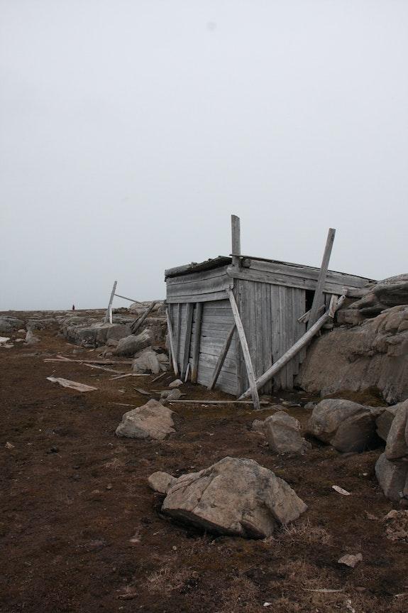 Svalbard cabins.