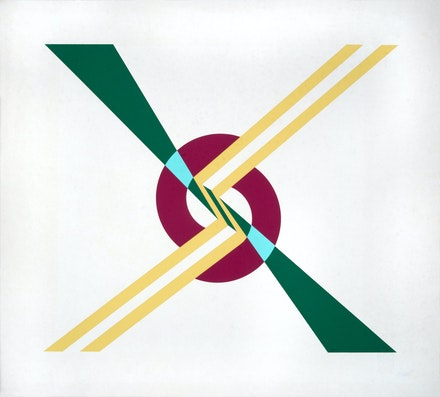 Judy Chicago (signed Judy Gerowitz), <em>Flashback</em>, 1965. Serigraph, 18 x 20 inches. Courtesy the artist.