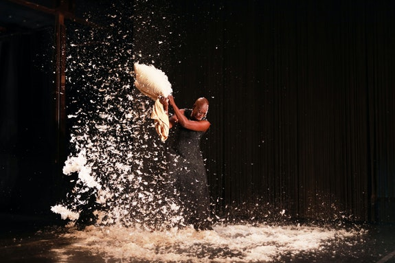 An image from Dimitris Papaioannou's production of The Great Tamer. Photo: Julian