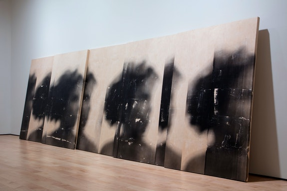 Installation view:<em> Sandra Brewster: Blur</em>,  Art Gallery of Ontario, 2019. © Sandra Brewster and Georgia Scherman Projects, Photo: AGO.