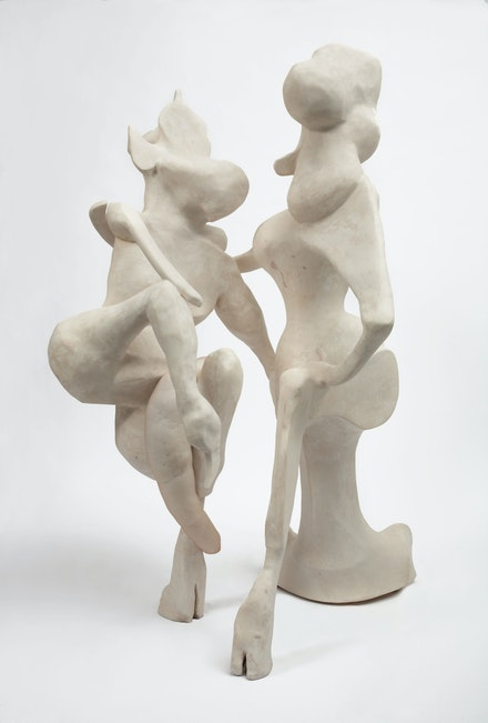 Rachel Feinstein, <em>Satyrs</em>, 2008. Resin, nylon, and polyester. © Rachel Feinstein. Courtesy the artist.