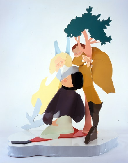 Rachel Feinstein, <em>Good Times</em>, 2005. Wood, Aqua Resin, and oil enamel.© Rachel Feinstein. Courtesy the artist and Marianne Boesky Gallery, New York and Aspen.
