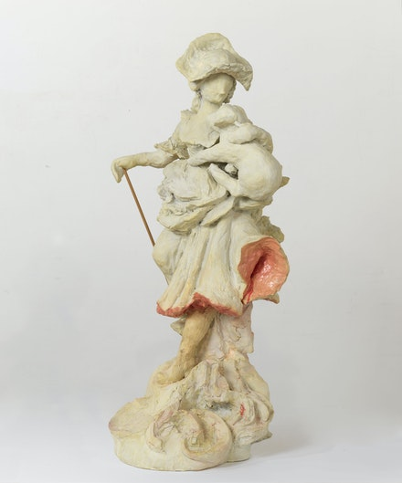 Rachel Feinstein, <em>The Bleeding Shepherdess</em>, 2014. Resin. © Rachel Feinstein. Photo: Robert McKeever. Courtesy Gagosian.