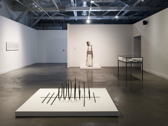 Installation view: <em>Terry Fox: Resonance</em>, CCA Wattis Institute for Contemporary Arts, 2019. Courtesy The Lab, San Francisco. Photo: Robert Divers Herrick.