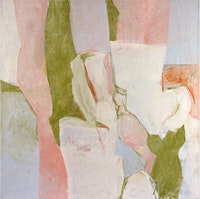 Charlotte Park, <em>Untitled</em>, 1960s. Oil on canvas. Courtesy Berry Campbell Gallery.