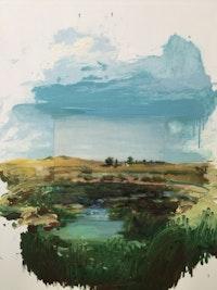 Mark William Wilson, Shinecock Redux, 2019. Oil on canvas, 60 x 48 inches. Courtesy the artist.