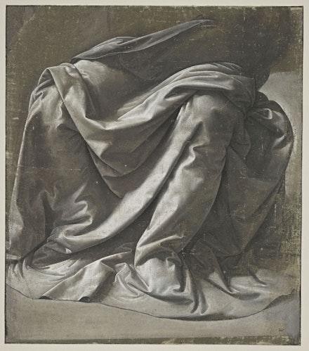 Léonardo da Vinci, <em>Drapery for a Seated Figure</em>, c.1470. © RMN-Grand Palais (musée du Louvre) / Michel Urtado.