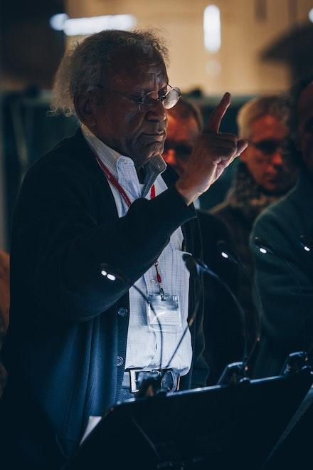 Anthony Braxton. Image © Berliner Festspiele, Jazzfest Berlin 2019.Photo: Adam Janisch.