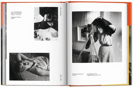 Inside spread, <em>Bauhausmädels: A Tribute to Pioneering Women Artists</em> (Taschen, 2019)