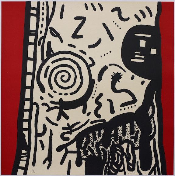 David Lynch, <em>The Paris Suite, VI</em>, 2007. Lithograph on BFK Rives paper, 21 1/4 x 21 1/4 inches. Item Editions, Paris. Courtesy the artist.