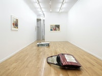 Installation view: <em>Ann Greene Kelly: Eyelids Are Our Thinnest Skin</em>, Chapter NY. Courtesy the artist and Chapter NY, New York. Photo: Dario Lasagni.