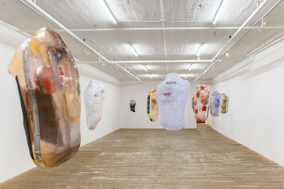 Installation view: <em>Ragen Moss: 8 Animals</em>, Bridget Donahue Gallery, New York. Courtesy Bridget Donahue, New York.