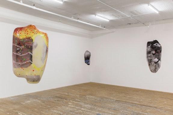Installation view: <em>Ragen Moss: 8 Animals</em>, Bridget Donahue Gallery, New York. Courtesy Bridget Donahue, New York.