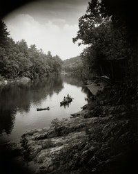 Sally Mann, <em>On the Maury</em>, 1992. Gelatin silver print. Private collection. © Sally Mann.