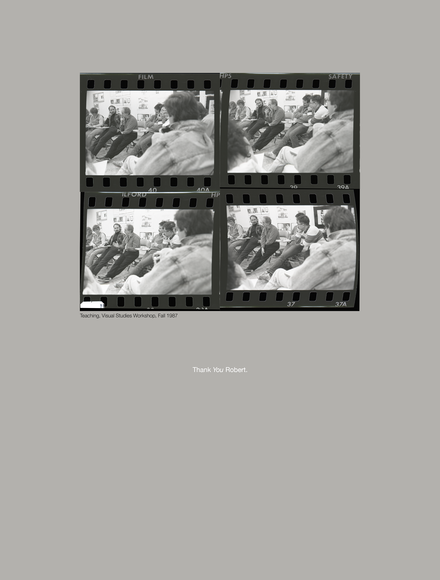 ©2019 Leo Nash. Robert Frank. Contact Sheet of 4. Visual Studies.