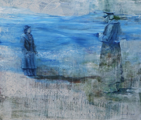 Soudeh Douvoud, <em>Dream and Imagination</em>, 2019. Courtesy the Center for Human Rights in Iran (CHRI).