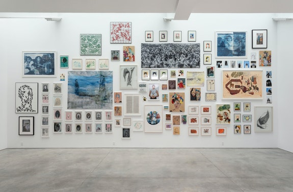 Installation view: <em>A Bridge Between You and Everything: An Exhibition of Iranian Women Artists</em>, High Line Nine, New York, 2019. Courtesy the Center for Human Rights in Iran (CHRI).