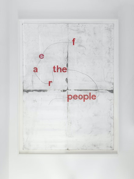 Tony Lewis, <em>fear the elpoep</em>, 2019. Photo by Object Studies and courtesy of Franklin Street Works.