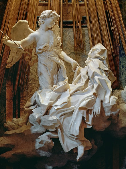 Gian Lorenzo Bernini, <em>The Ecstasy of Saint Teresa</em>, 1647-52
