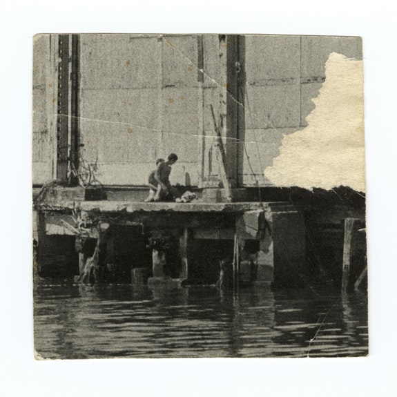 Alvin Baltrop, The Piers (exterior with couple having sex), n.d.​ ​(1975-1986) Gelatin silver print,image size: 4 5/8 x 7 1/8 inches. Courtesy The Alvin Baltrop Trust, © 2010, Third Streaming, NY, and Galerie Buchholz, Berlin/Cologne/New York.