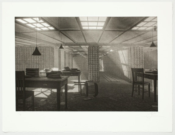 """Fiona Tan, from """"Shadow Archive,"""" 2019. Photogravure, 8 x 12 3/8 inches. Courtesy Peter Freeman Inc."""
