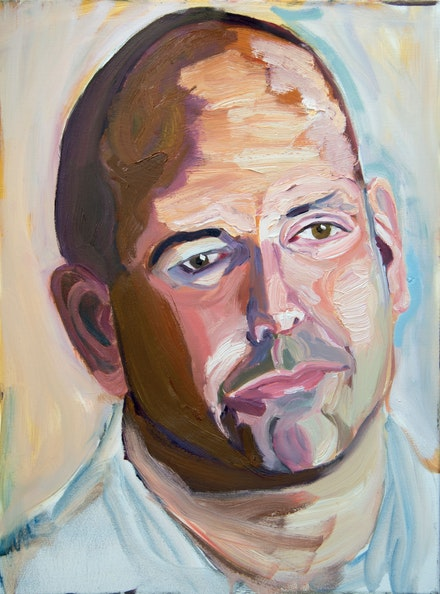 Geoge W. Bush, Sergeant Michael Joseph Leonard Politowicz, U.S. Marine Corps, 2010 - Present. Oil on canvas, 24 x 18 inches. Courtesy the George W. Bush Presidential Center, Dallas, TX.