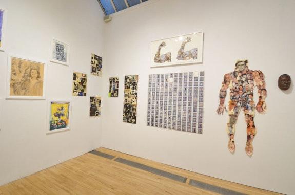 Installation view: <em>Souls Grown Diaspora</em>, apexart, New York, 2020. Courtesy apexart.