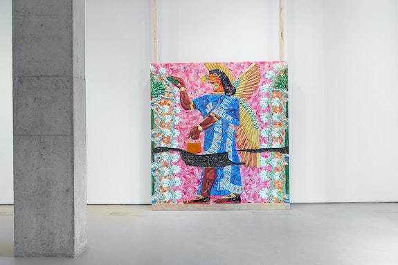 Installation view: <em>Michael Rakowitz: The invisible enemy should not exist</em>, Jane Lombard Gallery, New York, 2020. Courtesy Jane Lombard Gallery, New York.