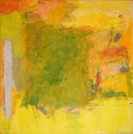 Emily Mason, <em>Bee Loud Glade</em>, 1959. Oil on canvas, 48 x 48 inches.
