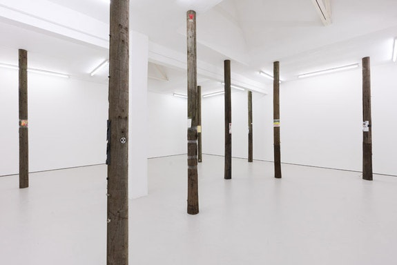Lloyd Corporation, <em>Person to Person</em>, 2020. Mixed media, dimensions variable. Courtesy the artists and Carlos/Ishikawa, London.