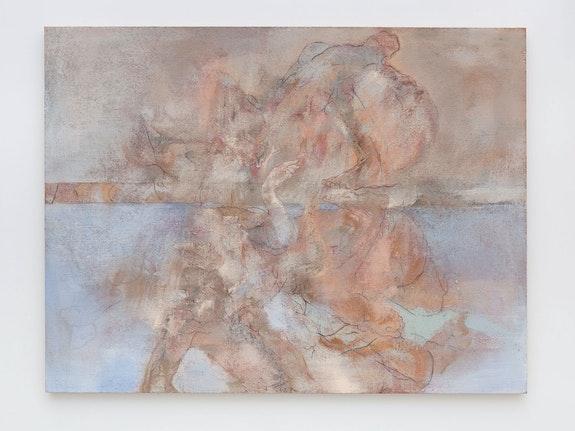 Patrick Jones, <em>Peer</em>, 2019. Acrylic on canvas, 200 x 152 cm. Courtesy the artist and The Sunday Painter, London.