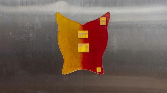 Installation view: <em>Nina Hartmann: FOGBANK</em>, Gern en Regalia, New York, 2020. Courtesy Gern en Regalia.