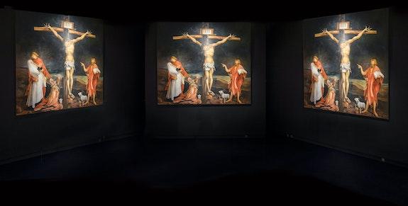 Installation view: <em>Huysmans. De Degas à Grünewald. Sous le regard de Francesco Vezzoli</em>, Musée d'Orsay, Paris, 2019–2020. © Musée d'Orsay. Photo: Sophie Crépy.