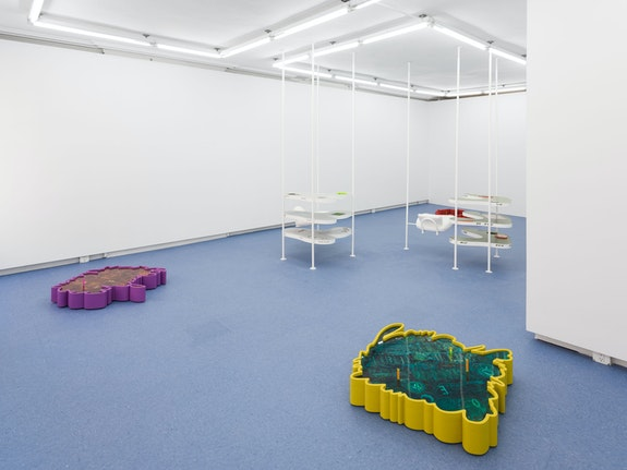 Installation view: <em>Catherine Telford Keogh: Nervous System</em>, Helena Anrather, New York, 2020. Courtesy the artist and Helena Anrather, New York. Photo: Sebastian Bach.