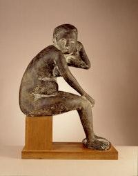 Marino Marini, <em>Susanna</em>, 1943, cast 1946-51. Bronze, 28 7/8 x 21 1/8 x 10 5/8 inches. Photo: Lee Stalsworth. © 2019 Artists Rights Society (ARS), New York / SIAE, Rome.